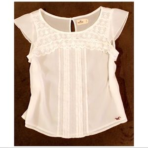 Hollister Lacy Top, size S